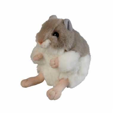 Bruine hamster knuffel