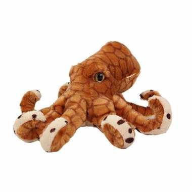 Bruine knuffel octopus