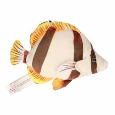 Bruine tropische vis knuffeldier