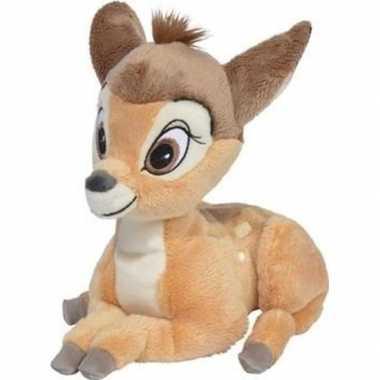 Cartoon knuffels disney bambi hert bruin