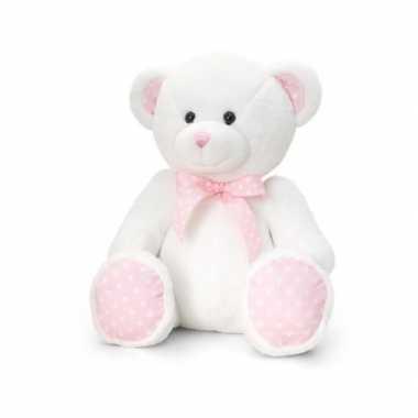 Geboorte meisje roze knuffelbeer