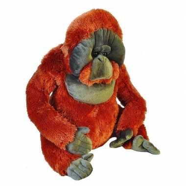 Grote pluche aap orang oetan knuffel