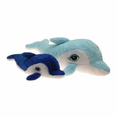 79bc410189de11 Grote pluche dolfijn donker blauw knuffel | Knuffel-kwijt.nl