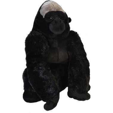 Grote pluche gorilla knuffel