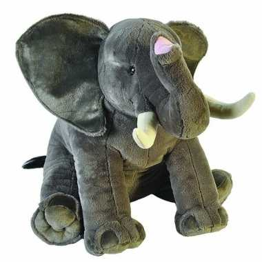 Grote pluche olifant knuffel