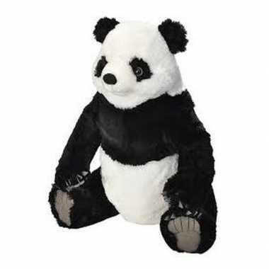 Grote pluche panda knuffel
