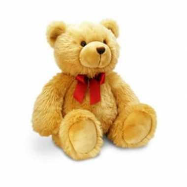 Keel toys grote pluche beer knuffel harry bruin