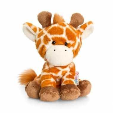 84e187433166d1 Keel toys pluche giraffe knuffel oranje | Knuffel-kwijt.nl