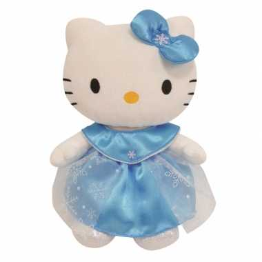 Knuffel Hello Kitty Elsa jurk