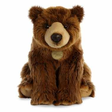 Pluche grizzly beer knuffel