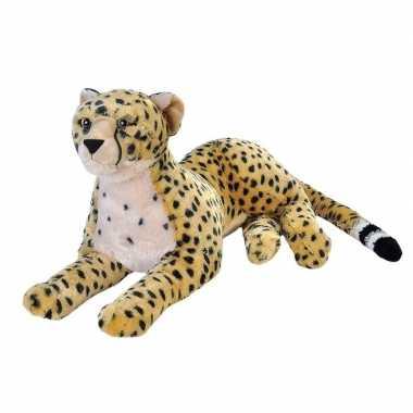 Pluche grote cheetah knuffel