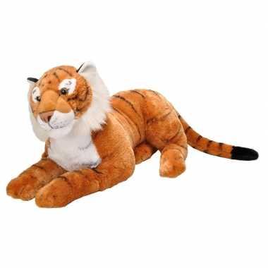 Pluche grote tijger knuffel