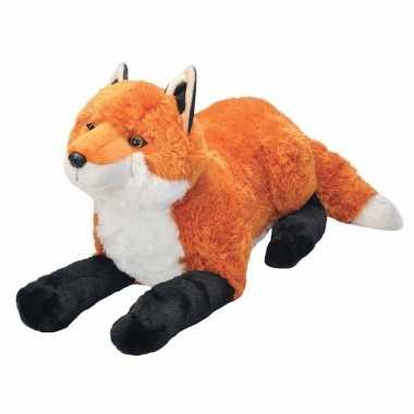 Pluche grote vossen knuffel