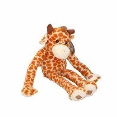 Pluche knuffel giraffe