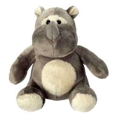 Pluche knuffel neushoorn