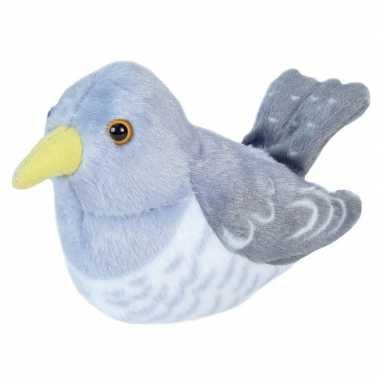 Pluche koekoek vogel knuffel geluid