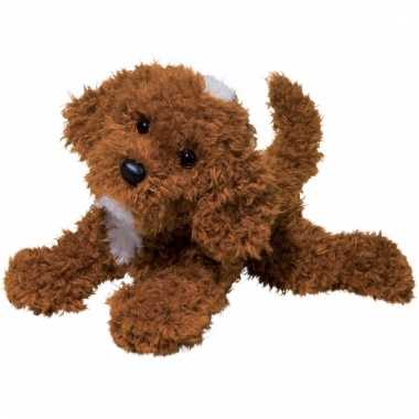 Pluche labradoodle hond knuffel