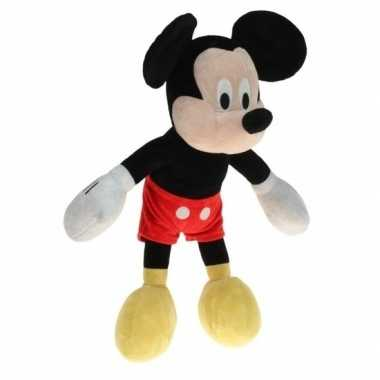 Pluche mickey mouse knuffel