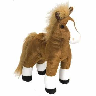 Pluche paarden knuffel