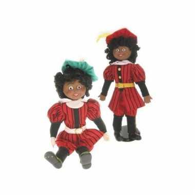 Sinterklaas decoratie pietenpop  knuffel