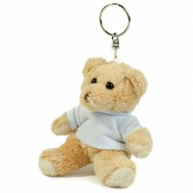 Teddybeer sleutelhanger  knuffel