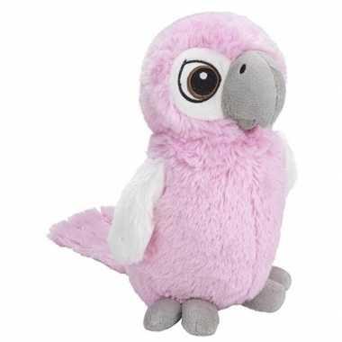 Vogel knuffels kaketoe roze