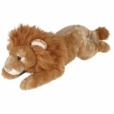 Xl dieren knuffels leeuw bruin