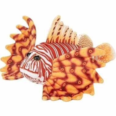 Zeedieren knuffels koraalduivel oranje