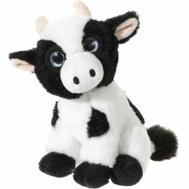3554bb78935117 Zwart witte pluche koeien knuffeltje | Knuffel-kwijt.nl