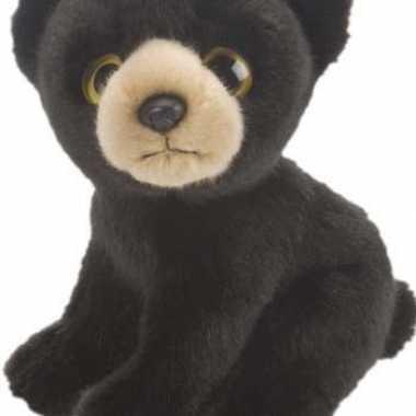 Zwarte beer knuffel