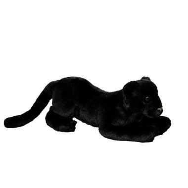 Zwarte pluche panter  knuffel