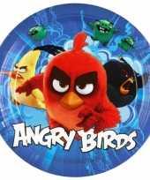 Angry birds bordjes stuks karton knuffel