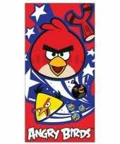 Angry birds handdoek knuffel