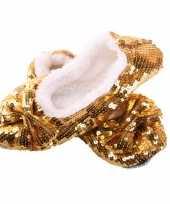 Gouden glitterende pailletten knuffel