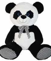 Grote pluche panda beer knuffel dier