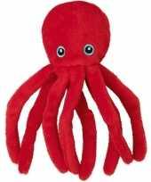 Knuffels octopus vissen rood 10143382