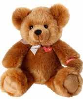 Kraam cadeau knuffeltje bruine beer zittend