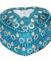 Melktanden doosje edelsteentjes vlinder blauw knuffel