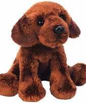 Pluche labrador knuffel hond bruin