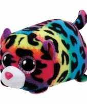 Pluche luipaardje jelly ty teeny knuffel
