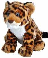 Wilde dieren knuffels jaguar luipaard welp gevlekt