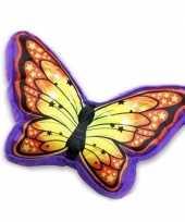 Woondecoratie kussen vlinder knuffel 10119346