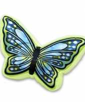 Woondecoratie kussen vlinder knuffel
