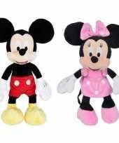X cartoon knuffels disney mickey minnie mouse muis zwart